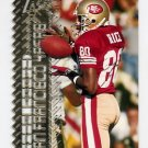 1996 Topps Laser Football #040 Jerry Rice - San Francisco 49ers