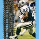 1996 Topps Laser Football #015 Emmitt Smith - Dallas Cowboys