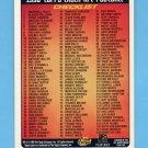 1996 Topps Laser Football #NNO Checklist