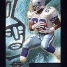 1996 Topps Gilt Edge Football #08 Emmitt Smith - Dallas Cowboys