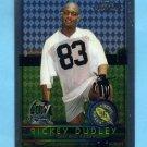 1996 Topps Chrome Football #153 Rickey Dudley RC - Oakland Raiders