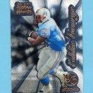 1996 Select Certified Premium Stock #100 Eddie George RC - Houston Oilers