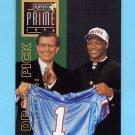 1996 Playoff Prime Football #167 Eddie George RC - Houston Oilers