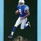 1996 Pinnacle Foil #166 Marvin Harrison RC - Indianapolis Colts