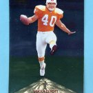 1996 Pinnacle Foil #158 Mike Alstott RC - Tampa Bay Buccaneers