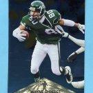1996 Pinnacle Foil #147 Wayne Chrebet - New York Jets