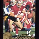 1996 Pacific Football #376 Steve Young - San Francisco 49ers