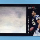 1996 Laser View Football #15 Junior Seau - San Diego Chargers