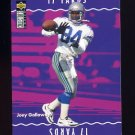 1996 Collector's Choice Update You Make The Play #Y19 Joey Galloway - Seattle Seahawks