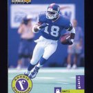 1996 Collector's Choice Update Football #U052 Amani Toomer RC - New York Giants