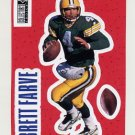 1996 Collector's Choice Stick-Ums #S06 Brett Favre - Green Bay Packers