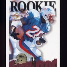 1995 Summit Football #166 Curtis Martin RC - New England Patriots