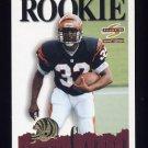1995 Summit Football #164 Ki-Jana Carter RC - Cincinnati Bengals