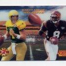 1995 Sportflix Man 2 Man #11 Brett Favre / Jeff Blake