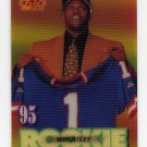 1995 Sportflix Football #126 Tyrone Wheatley RC - New York Giants