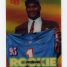 1995 Sportflix Football #120 Steve McNair RC - Houston Oilers