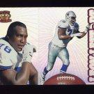 1995 Pacific Prisms Football #021 Leon Lett - Dallas Cowboys