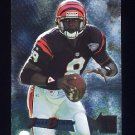 1995 Metal Football #034 Jeff Blake RC - Cincinnati Bengals