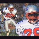 1995 Flair Football #124 Curtis Martin RC - New England Patriots