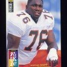 1995 Collector's Choice Football #012 Warren Sapp RC - Tampa Bay Buccaneers