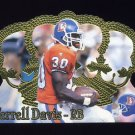 1995 Crown Royale Football #136 Terrell Davis RC - Denver Broncos