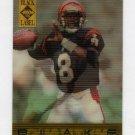 1995 Collector's Edge Black Label Quantum Motion #02 Jeff Blake RC - Cincinnati Bengals
