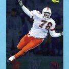1995 Classic NFL Rookies Silver #012 Warren Sapp RC - Tampa Bay Buccaneers
