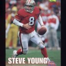 1995 Classic NFL Rookies Football #108 Steve Young - San Francisco 49ers