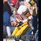 1994 Pro Line Live Football #348 Johnnie Morton RC - Detroit Lions