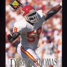 1994 Pro Line Live Football #063 Derrick Thomas - Kansas City Chiefs