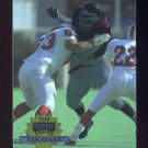 1994 Playoff Football #329 Sam Adams RC - Seattle Seahawks