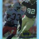 1994 Playoff Football #308 Donnell Bennett RC - Kansas City Chiefs