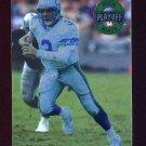 1994 Playoff Football #132 Rick Mirer - Seattle Seahawks