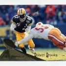 1994 Pinnacle Football #261 Robert Brooks - Green Bay Packers