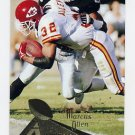 1994 Pinnacle Football #186 Marcus Allen - Kansas City Chiefs