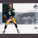 2001 SP Authentic Football #035 Brett Favre - Green Bay Packers
