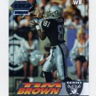 1994 Collector's Edge Silver #102 Tim Brown - Los Angeles Raiders
