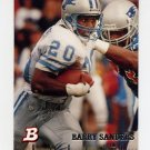 1994 Bowman Football #180 Barry Sanders - Detroit Lions