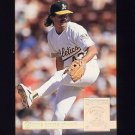 1994 Donruss Special Edition #16 Dennis Eckersley - Oakland A's