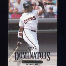 1994 Donruss Dominators #A2 Barry Bonds - San Francisco Giants