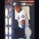 1996 Donruss Baseball #334 Sammy Sosa - Chicago Cubs