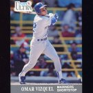 1991 Ultra Baseball #345 Omar Vizquel - Seattle Mariners