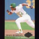 1994 Ultra Baseball #408 Rickey Henderson - Oakland A's