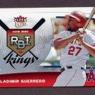 2006 Ultra RBI Kings #RBI18 Vladimir Guerrero - Los Angeles Angels