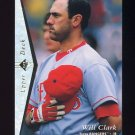 1995 SP Silver #200 Will Clark - Texas Rangers