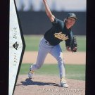 1995 SP Silver #186 Todd Stottlemyre - Oakland A's