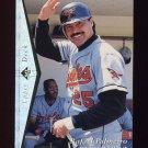 1995 SP Silver #120 Rafael Palmeiro - Baltimore Orioles