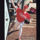 1995 SP Silver #091 Curt Schilling - Philadelphia Phillies