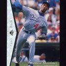 1995 SP Silver #069 Ramon Martinez - Los Angeles Dodgers