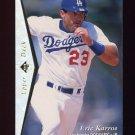 1995 SP Silver #066 Eric Karros - Los Angeles Dodgers